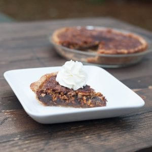 High Plains Pecan Pie