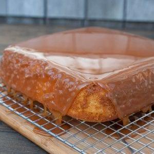 Sanders Caramel Cake