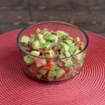 Avocado Salad with Salty Lime