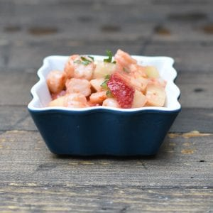 Strawberry Ceviche