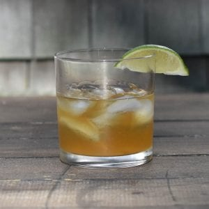 Bourbon Cowboy Cocktail
